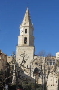 One of many churches in Marseille