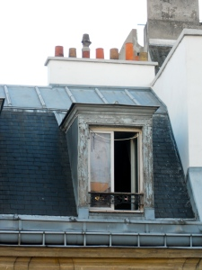 Paris rooftop, October 2010