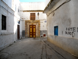 Heading into the Medina, Tunis