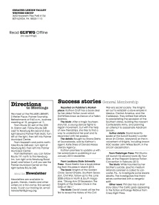 Using member success stories to motivate people to open the newsletter