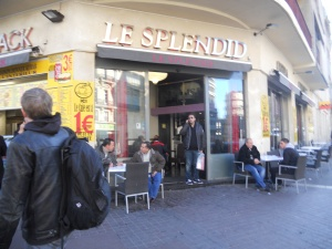 My favorite café in Marseille