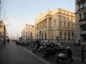 The Marseille street