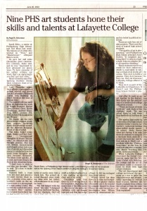 Part one of a long front page feature