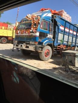 Truck in Bakara Market