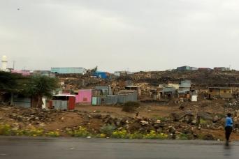 Village near port