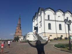 Photobomber in Kazan